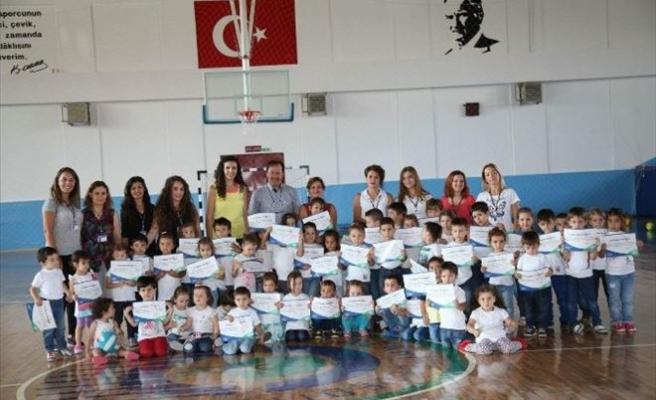Oyunpazarı Öğrencilerine Jimnastik Eğitimi
