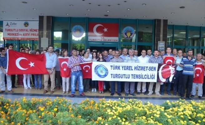 Turgutlu Belediyesi Çalışanlarından Anlamlı Mesaj