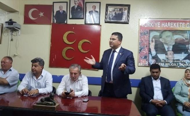 """MHP'li Ersoy: """"Ülkücüler Sokağa İndi Söylemi Yanlıştır"""""""
