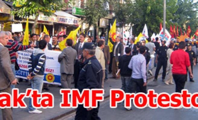 Uşak'ta IMF Protestosu