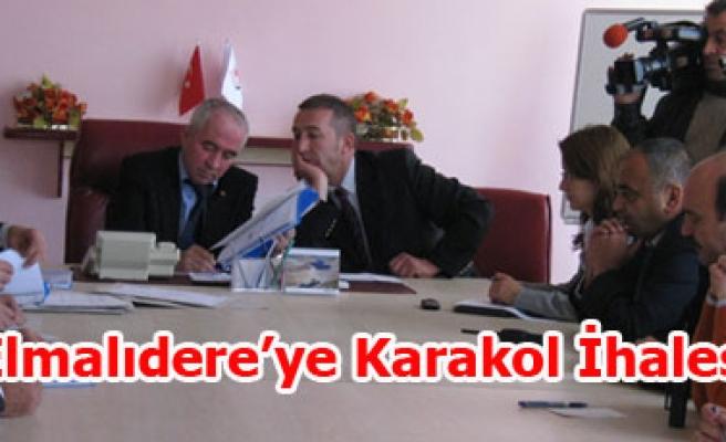 ELMALIDERE'YE KARAKOL İHALESİ YAPILDI