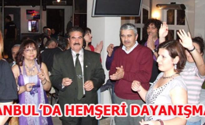 İSTANBUL'DA HEMŞERİ DAYANIŞMASI