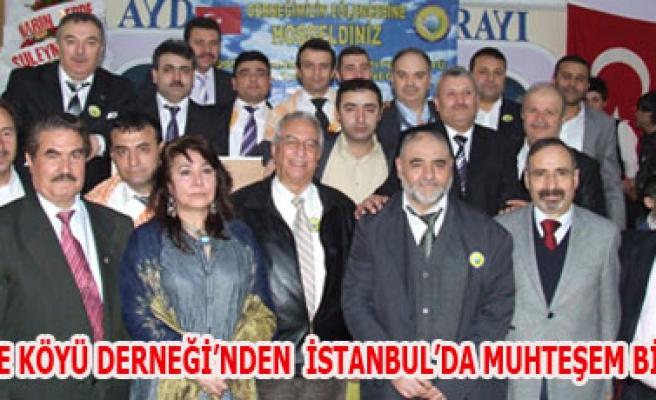 YAZITEPE KÖYÜ DERNEĞİ'NDEN  İSTANBUL'DA MUHTEŞEM BİR GECE