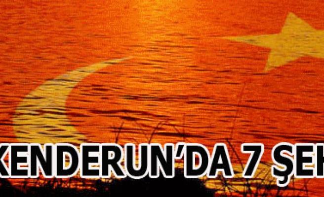İSKENDERUN'DA HAİN SALDIRIDA 7 ER ŞEHİT