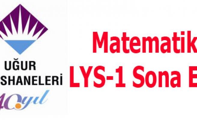 Matematik LYS-1 Sona Erdi
