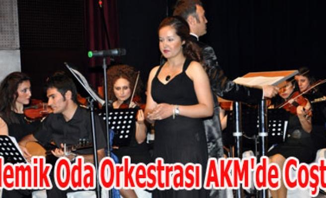 Akademik Oda Orkestrası AKM'de Coşturdu