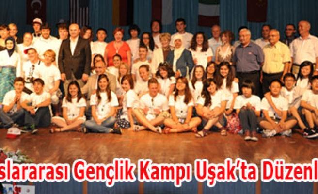 8. Uluslararası Gençlik Kampı Uşak'ta Düzenleniyor