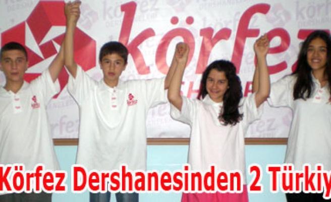 Uşak Körfez Dersanesinden 2 Türkiye 1.si