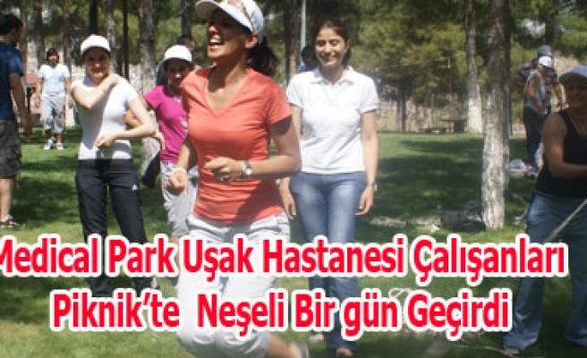 Medical Park Uşak Hastanesi Çalışanları Piknik'te  Neşeli Bir gün Geçirdi