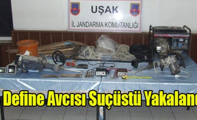 4 DEFİNE AVCISI SUÇÜSTÜ YAKALANDI