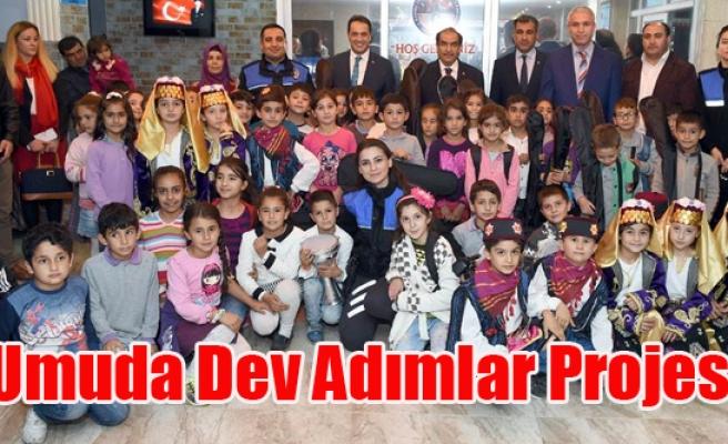 Umuda Dev Adımlar Projesi Çocukların Ufkunda Yeni Pencereler Açacak