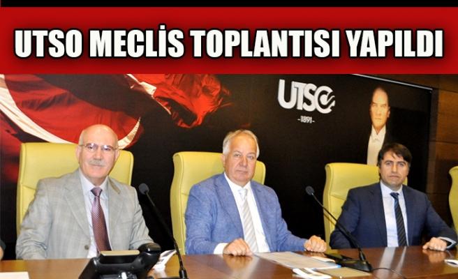 UTSO MECLİS TOPLANTISI YAPILDI