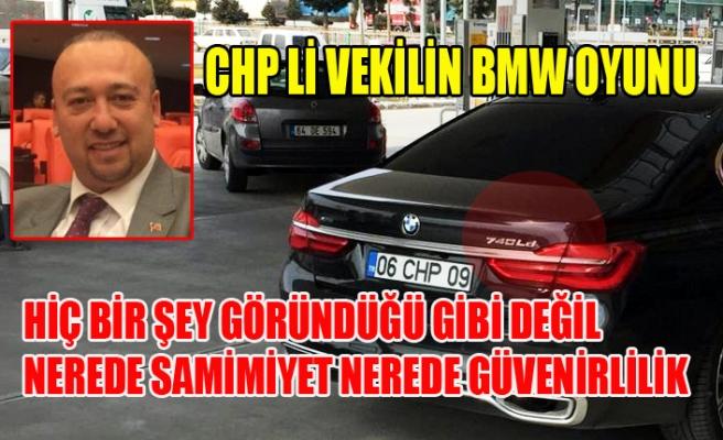 CHP'Lİ VEKİL ÖZKAN YALIM'IN  BMW OYUNUNU UŞAK.TV ORTAYA ÇIKARDI