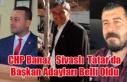 CHP'DE BANAZ, SİVASLI VE TATAR BELEDİYE BAŞKAN...