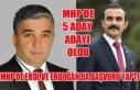 UŞAK MHP DE BELEDİYE BAŞKAN ADAY ADAYI SAYISI 5...