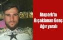 UŞAK'TA ATAPARK'TA BIÇAK DARBELERİ İLE...