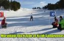 Muratdağı'nda Kayak ve Kızak Şampiyonası