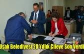 Uşak Belediyesi 20 Yıllık Çileye Son Verdi