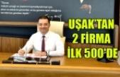 UŞAK'TAN 2 FİRMA İLK 500'DE