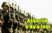 YENİ ASKERLİK KANUNU ONAYLANDI, ASKERLİK 6 AY'A DÜŞTÜ