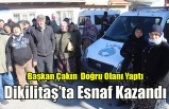 Başkan Çakın Dikilitaş Pazaryeri Konusunda Doğru Olanı Yaptı