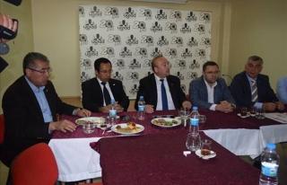CHP MİLLETVEKİLİ ADAYLARI VE GENÇ İŞADAMLARI...