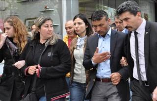 Korumalar MHP Binasında Gözaltına Aldılar