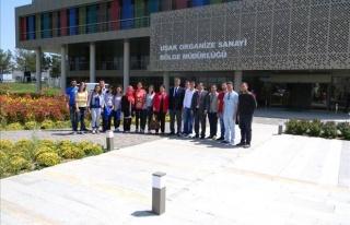 ÖĞRENCİLER, UŞAK ORGANİZE SANAYİ BÖLGESİ'Nİ...