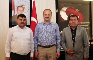 Çorumlulardan Akgül'e Teşekkür Ziyareti