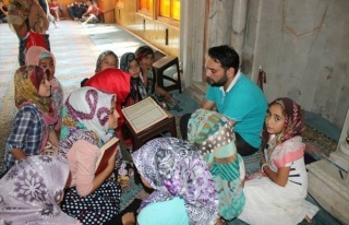 Gülşehir'de Kuran Kursu Birincilerine Tablet Bilgisayar...