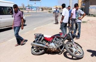 Ceylanpınar'da Motosiklet Kazası: 2 Yaralı