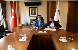 Kaymaklı Belediyesi Spor Toto Teşkilatı İle Protokol...