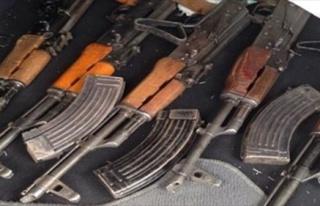 Ceylanpınar'da Uzun Namlulu Silahlar Ve Mühimmat...