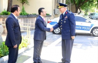 Hava Kuvvetleri Komutanı Ünal, Vali Aksoy'u Ziyaret...