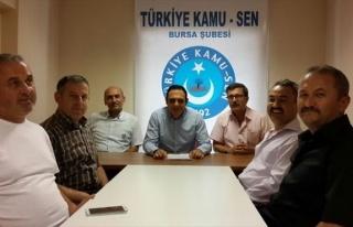 Türk Büro-sen Şube Başkan Yardımcısı Melih...