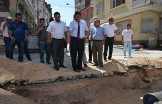 """Gürkan: """"Battalgazi'nin Her Noktasında Çalışma..."""