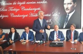 CHP Bolu Milletvekili Tanju Özcan:
