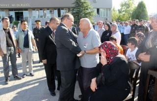 Polis, Törenle Memleketine Uğurlandı
