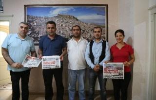 Tküugd Genel Başkanı Yavuzaslan Mardin'de Meslektaşları...