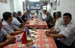Kaymakam Özdel'den Pazaryerililer Derneği'ne...