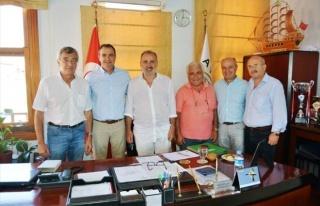 Midilli Belediye Başkanından Başkan Gençer'e...