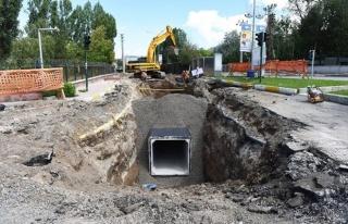 Büyükşehir, Yağmur Sularını Kanalizasyondan...