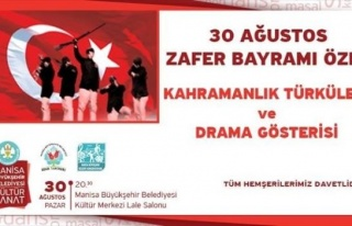 Şanlı Zafer Drama Gösterisi Ve Türkülerle Dile...