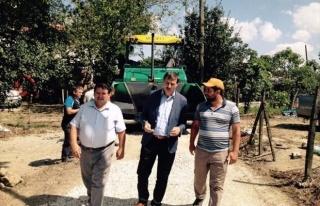 Serdivan Belediyesi Kızılcıklı Sokaklarına Sıcak...