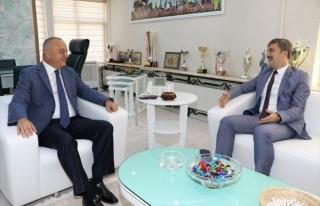 Şirin'den Başkan Ergün'e Ziyaret