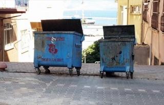 Bandırma'da Halkın Çöp Konteyneri Şikayeti