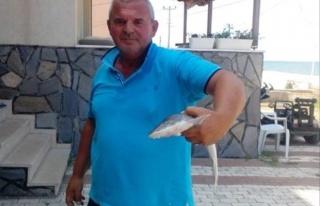 Oltayla Köpek Balığı Yakaladı