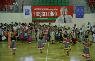 Karşıyaka'da Yaz Okullarına Muhteşem Final