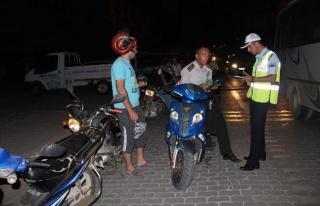 Çan'da Motosiklet Uygulaması