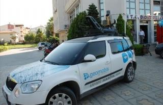 Didim'de Panoramik Sistem Aracı Çalışıyor